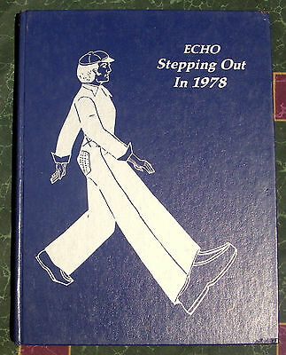 1978 Echo Poolesville Maryland High School Yearbook MD stepping out