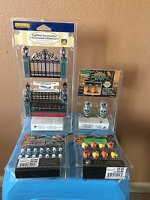 Lemax Spooky Town Accessories Lot