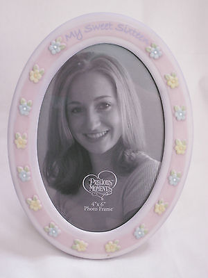 Nib Precious Moments Sweet Sixteen Porcelain Frame