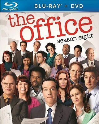 THE OFFICE SEASON EIGHT 8 New Sealed Blu-ray + DVD
