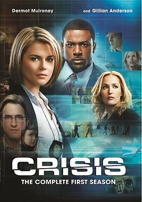 CRISIS COMPLETE FIRST SEASON 1 New Sealed 3 DVD Set