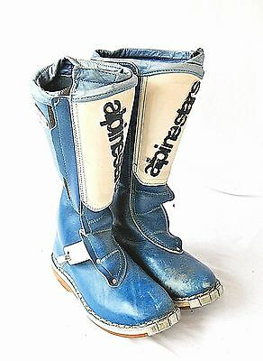 Vintage Alpinestars Hi Point Motocross Boots Men's Size 7 Made in Italy