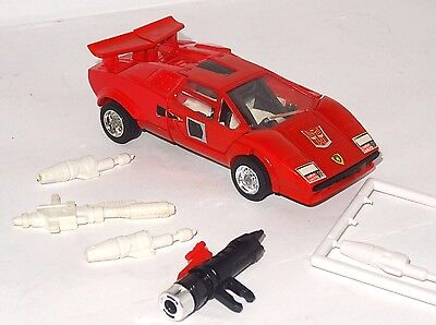 Transformers G1**sideswipe 100 % Complete**original 80's**great Cond