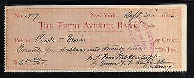 1906 The Fifth Avenue Bank - New York