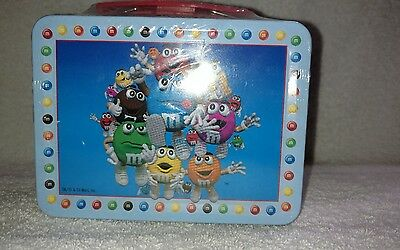 M&M's Minis Tin Lunchbox With Handle