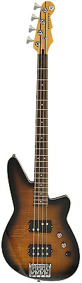 Reverend Mercalli Bass - Coffee Burst Flame Maple