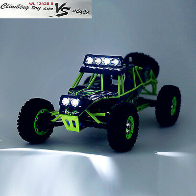 WLtoys 12428 1/12 Scale 2.4G RC Off-road Car Rock Crawler Climber RTR USB Gift