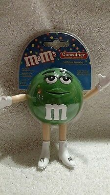 M&M's Green Character Candy Container