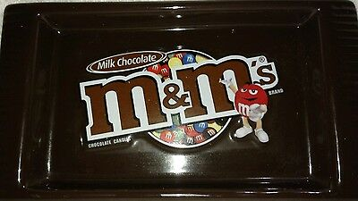 M&M's 2008 Plain Chocolate Ceramic Candy Tray