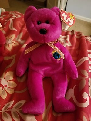 MINT CONDITION! Millenium beanie baby, with errors on tag, 5th generation