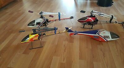 Remote controlled Helicopters and heaps of Spares