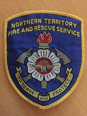 NT Northern Territory Fire & Rescue Service Patch