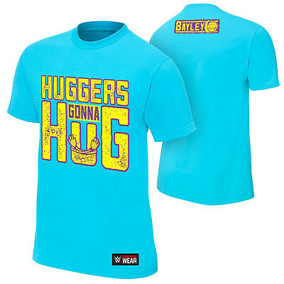 "WWE: Bayley ""Huggers Gonna Hug"" Authentic T-ShirT - Official Store"