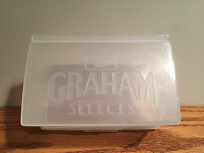 VINTAGE Keebler Advertising Graham Cracker Selects Storage Container NEW FREE SH