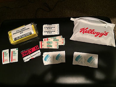 VINTAGE Kelloggs Advertising Emergency First Aid Kit with camera NEW FREE SH