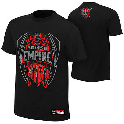 "WWE: Roman Reigns ""From Ashes to Empire"" Authentic T-Shirt - Official Store"
