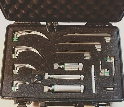 Welch Allyn Comprehensive Laryngoscope Kit W/pelican Case