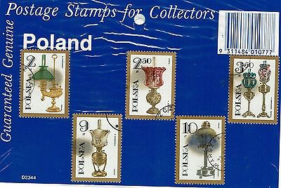 Poland  Stamps  in collectors packet