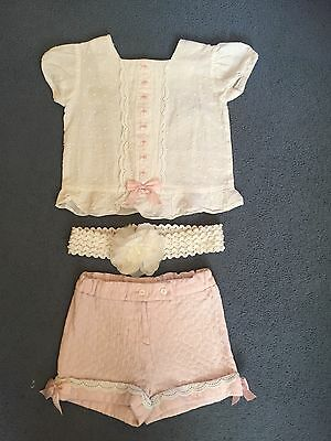 Spanish Granlei Outfit Bundle Top And Shorts
