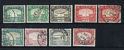 "Aden Stamps      ""Dhows"" 1937       cat value £32"