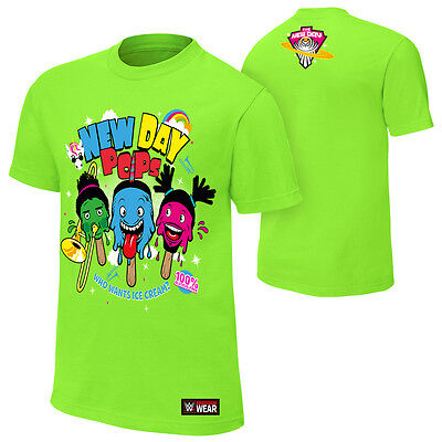 "WWE: The New Day ""Pops"" Authentic T-Shirt - Official Store"