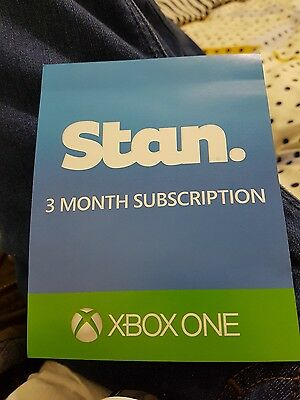 stan 3 month subscription