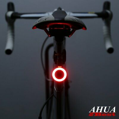 Ultrabright Bicycle Tail LightUSB Rechargeable Cycling Bike COB Rear Back Lamp