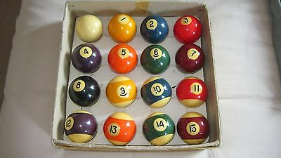 Set Of Pool  Balls   And Riley Triangle