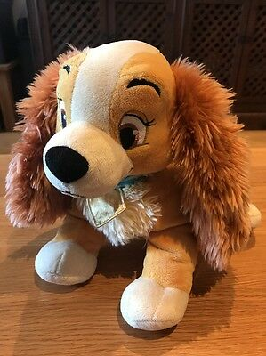 Lady From Disney Lady & The Tramp Soft Toy