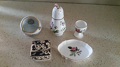 Mix of Wedgewood and other porcelains