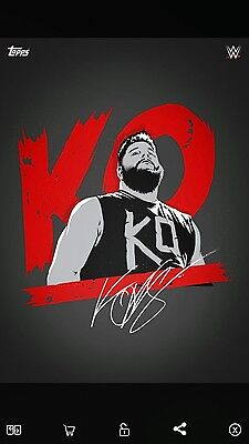 Topps Slam Personified Series 2 Kevin Owens Award Signature {Digital}