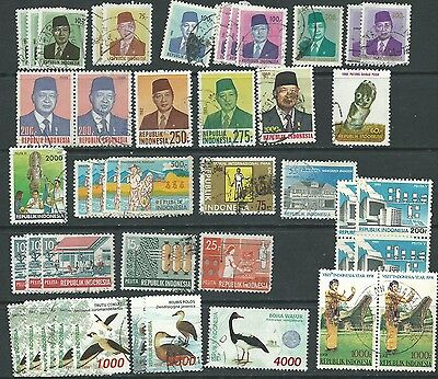 Indonesia selection 1970 onwards used (approx 40 items)