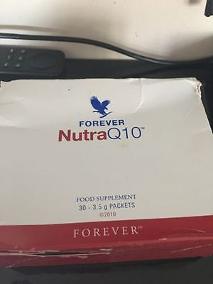 Forever Living - Nutra Q10/30 Packets per Box/New/box slightly damaged r