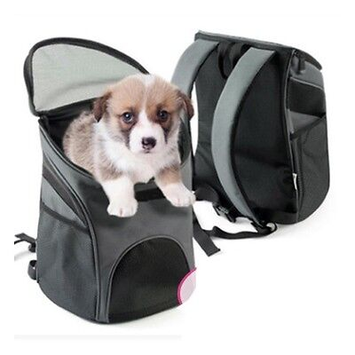 Pet Travel Carrier Portable Puppy Backpack Dog Cat Carrier Note Bag