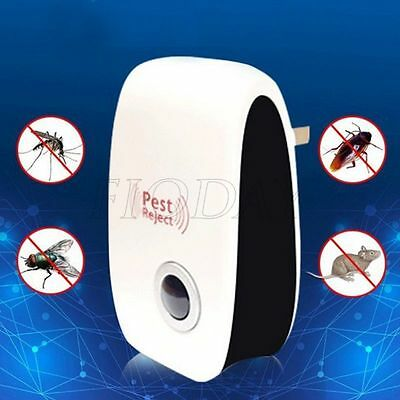 Ultrasonic Electroni Mosquito Pest Bug Insect Cockroach Rat Repeller Reject
