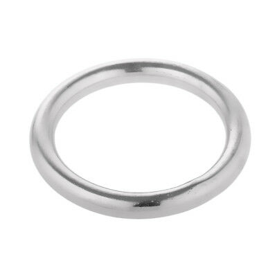 """Polished Welded Stainless Steel O-ring 1.6"""" 2"""" 2.4"""" 2.8"""" 3.1"""" 3.5"""" 3.9"""" Ring"""