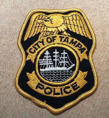 FL City of Tampa Florida Police Patch