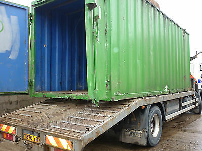 "Steel Shipping Container 20' x 8' x 8'6"" High Security Lock Up Storage Can Load"