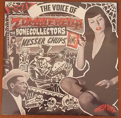 ZOMBIERELLA - The Voice Of... BLACK vinyl LP (New) LTD edition MESSER CHUPS