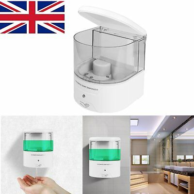Automatic 600mL Soap Dispenser Liquid Toilet Bathroom Wall Mounted Shower Pump