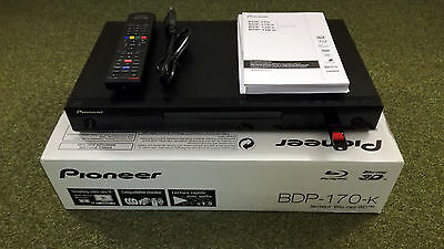 Pioneer Bdp-170-K 3D Blu-Ray Player Sacd Iso Copy Backup