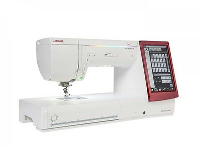 NEW! JANOME Memory Craft 14000 Sewing & Embroidery Machine!