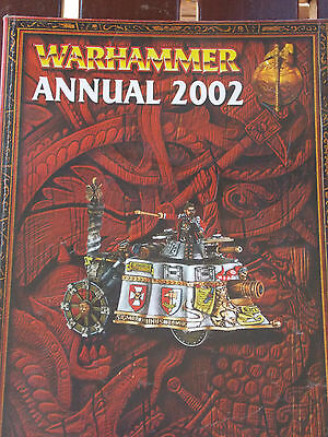 Games Workshop Warhammer Annual 2002