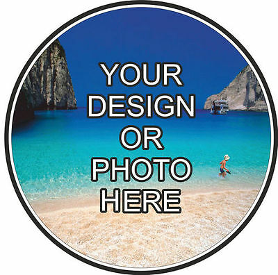 Personalised Car Tax Disc Holder Windscreen Sticker  Your Photo And Design