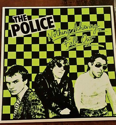 """The Police - Fall Out 7"""" Vinyl"""