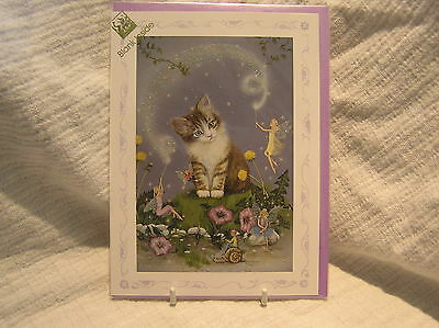 **cat Design Greetings Card**title=Spellbound.jean+Ron Henry.orig Packaging.new
