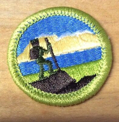 Boy Scouts Hiking Merit Badge Type H  New