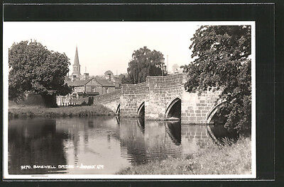 alte AK Bakewell, Looking at the Bridge