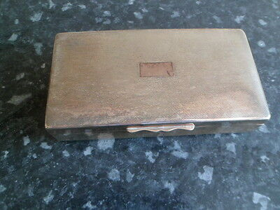Aristograt silver plated wooden lined box