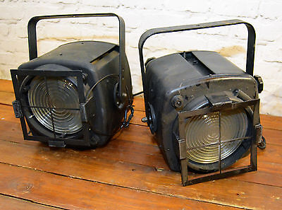 11 available strand pat 743 theatre stage light lamp lighting vintage industrial
